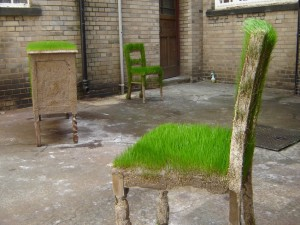 Green Furniture by Kevin Hunt