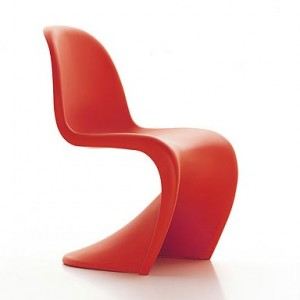 One of Panton's Most Famous Chairs